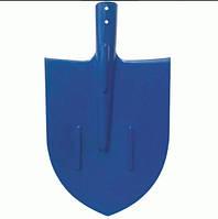 Лопата штыковая металлическая цветная