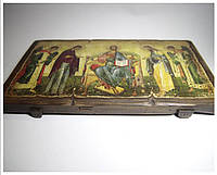 Ікона Деісус ручної роботи, фото 1