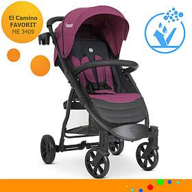 Детская прогулочная коляска El Camino Favorit M 3409 Purple Фиолетовый