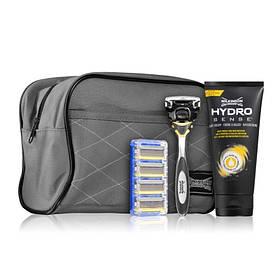 Набор Wilkinson Sword Hydro 5 Sense Energize (станок с 1 кас.+ 4 кассеты + крем для бритья + сумка) 01602