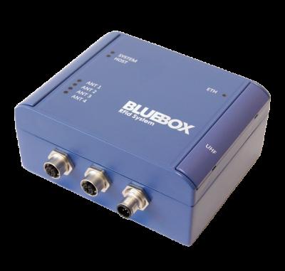 Контроллер считывания (до 10м) UHF меток на 4 антенны BLUEBOX Advant LR 4CH