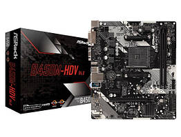 Материнська плата ASRock B450M-HDV R4.0 Socket AM4