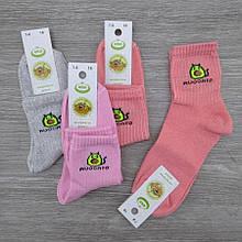 Шкарпетки дитячі демісезонні, середні, ЕКО, р. 18(7-8), AVOCATO, асорті, 30030747