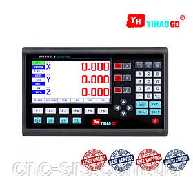 3 оси TTL 5 вольт LCD дисплей  устройство цифровой индикации YH800-2