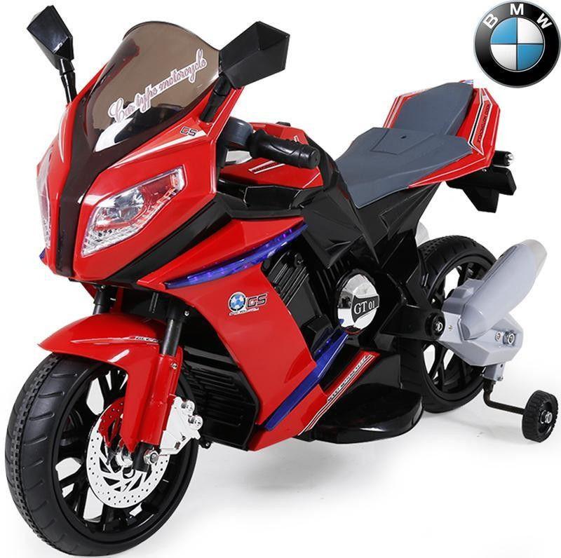 Детский Мотоцикл BMW 2769 E-2-3 с амортизатором, колеса EVA