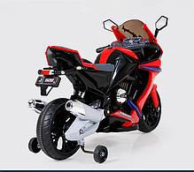 Детский Мотоцикл BMW 2769 E-2-3 с амортизатором, колеса EVA, фото 2