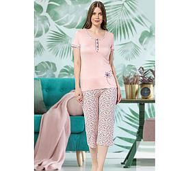 Пижама женская S-M-L-XL хлопковая демисезонная Seyko