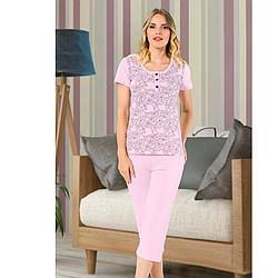 Пижама женская хлопковая демисезонная Seyko S/M-L/XL S-M