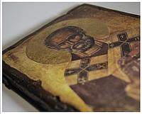 Ікона Миколи Чудотворця ручної роботи, фото 1