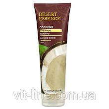 Desert Essence, Живильний шампунь для сухого волосся, кокос, 237 мл