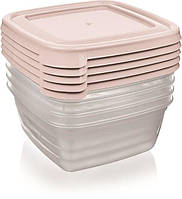 Набор контейнеров BAGER BG-627 COOK&KEEP MIX, 5 шт  0.25 л