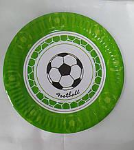 Набір тарілок паперових принт Футбол 18см 5шт.