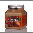 Скраб для тела Wokali Coffee Sherbet Body Scrub 350 мл, фото 2
