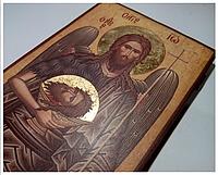 Икона Иоанна Предтечи ручной работы, фото 1