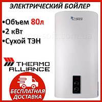 Бойлер 80 литров Thermo Alliance DT80V20G(PD)-D. Электрический накопительный водонагреватель с сухим ТЕНом