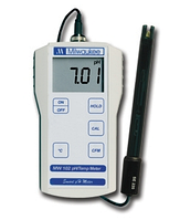 Професійний PH-метр/Temp Milwaukee MW102 (0.01 pH) ,США з датчиком вимірювання температури, АТС