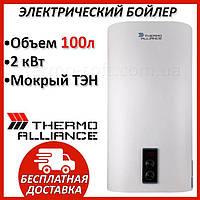 Бойлер 100 литров Thermo Alliance 1х(0,8+1,2) кВт DT100V20G(PD). Электрический накопительный водонагреватель