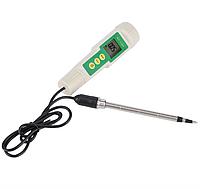 Кондуктометр (солемір) для грунту EC-3185, з виносним електродом