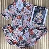 Піжама жіноча сорочка зі штанами, фото 4