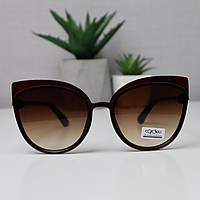 Солнцезащитные очки женские 9146 Коричневые