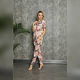 Піжама жіноча сорочка зі штанами, фото 2