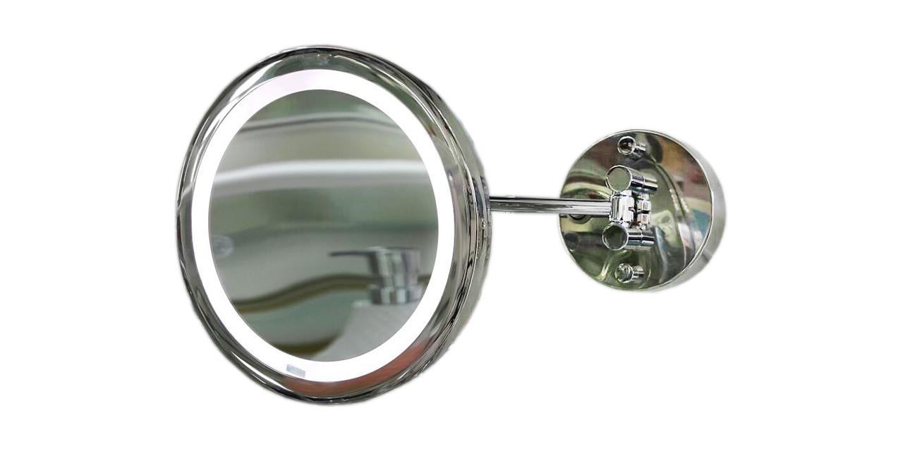 Элегантное косметическое зеркало с LED подсветкой