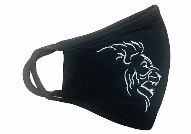 Вишита захисна маска Лев, фото 2