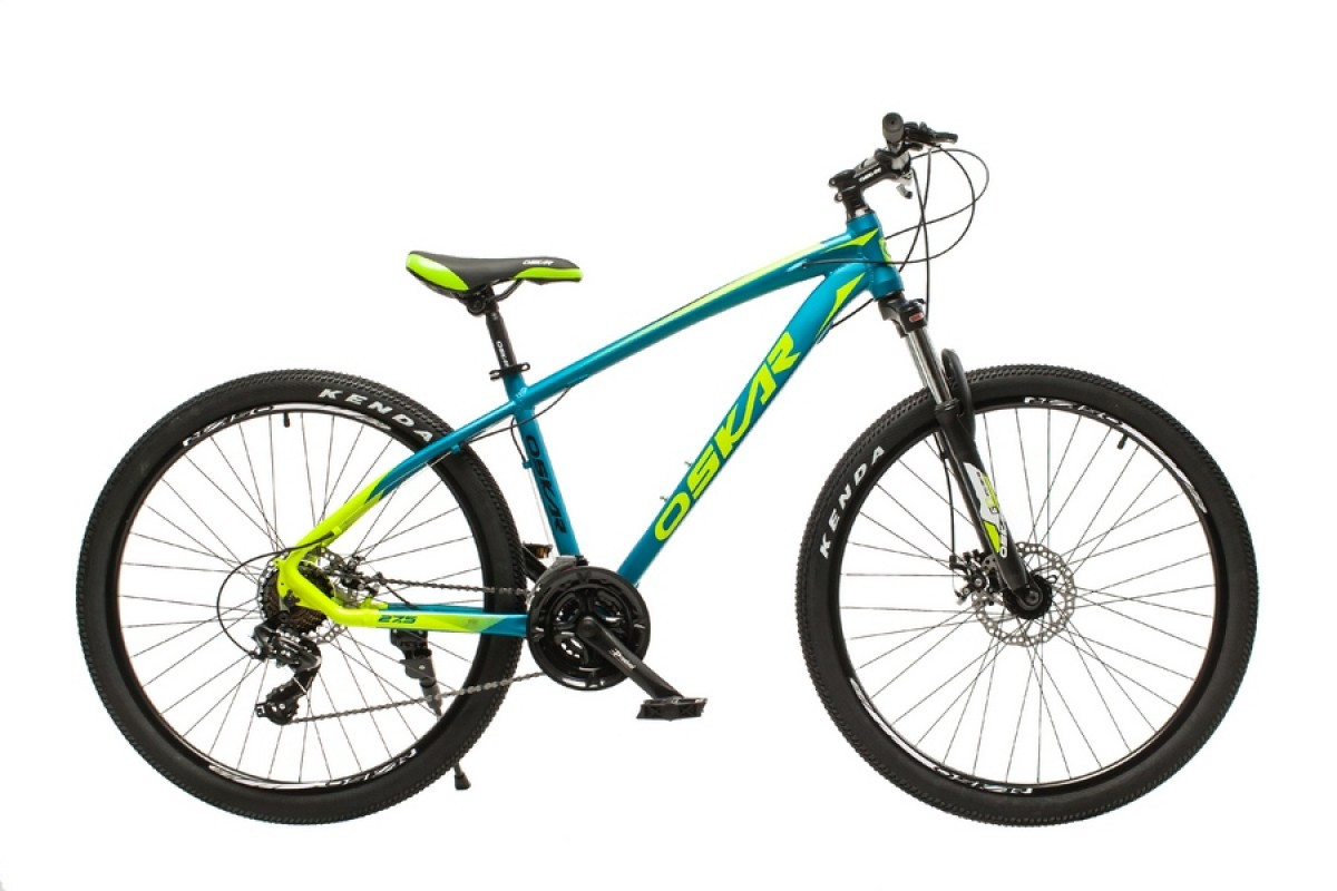"""Велосипед Oskar 27,5"""" М103 блакитний (27,5-m103-bl)"""