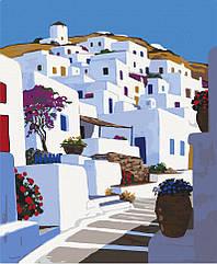 """Картина по номерам. Art Craft """"Санторини. Греция"""" 38*50 см 11218-AC"""