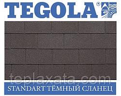 Черепиця TEGOLA (Super) Standart Темний сланець