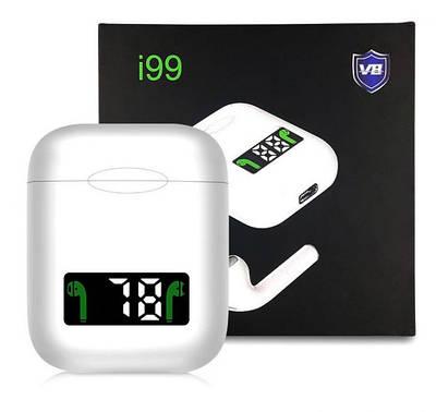 Беспроводные блютуз-наушники i99 tws сенсорные Беспроводная Bluetooth гарнитура