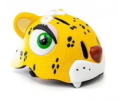 "Шолом дитячий велосипедний тварини ""Жовтий леопард"" CIGNA, HEAD-050"