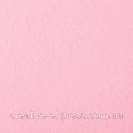 Фетр150д/m2, 20x30cm, 10 лист №23 pink