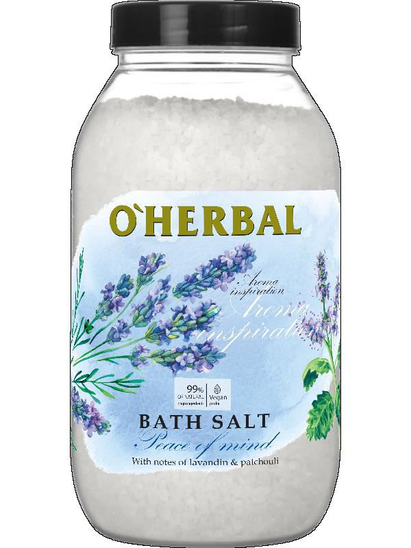 Сіль для ванн лавандова 1100 м Над Herbal Aroma Inspiration Secret Dreams