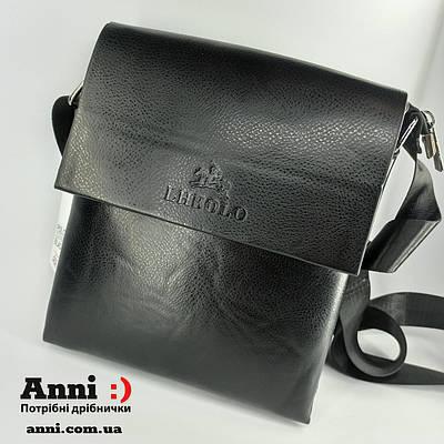 Мужская сумка планшет через плечо изэко кожи23*20