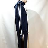 Чоловічий спортивний костюм (Великих розмірів) Весняний в стилі Adidas, фото 3