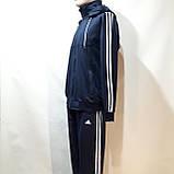 Чоловічий спортивний костюм (Великих розмірів) Весняний в стилі Adidas, фото 5