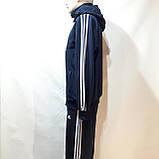 Чоловічий спортивний костюм (Великих розмірів) Весняний в стилі Adidas, фото 6