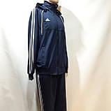 Чоловічий спортивний костюм (Великих розмірів) Весняний в стилі Adidas, фото 4