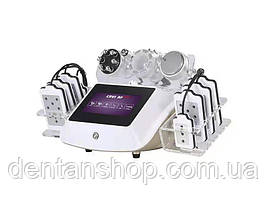 Аппарат 5-в-1 Кавитация/ RF-лифтинг/ Вакуумный массаж / Микротоки / Липолазер с сенсорным управлением мод 206А