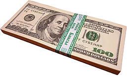 """Деньги сувенирные """"100 долларов"""""""