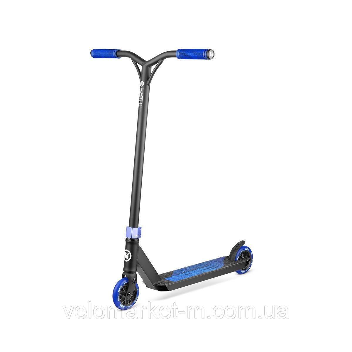 Самокат трюковый Hipe H3 Black/Blue