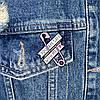 Металевий значок на рюкзак або одяг Булавка, фото 3