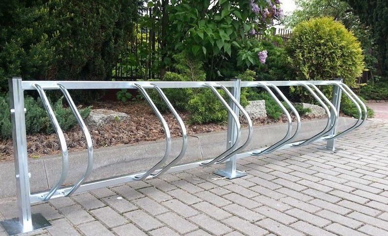 Велопарковка на 8 велосипедів