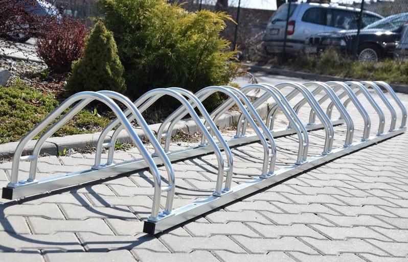 Велопарковка на 9 велосипедів