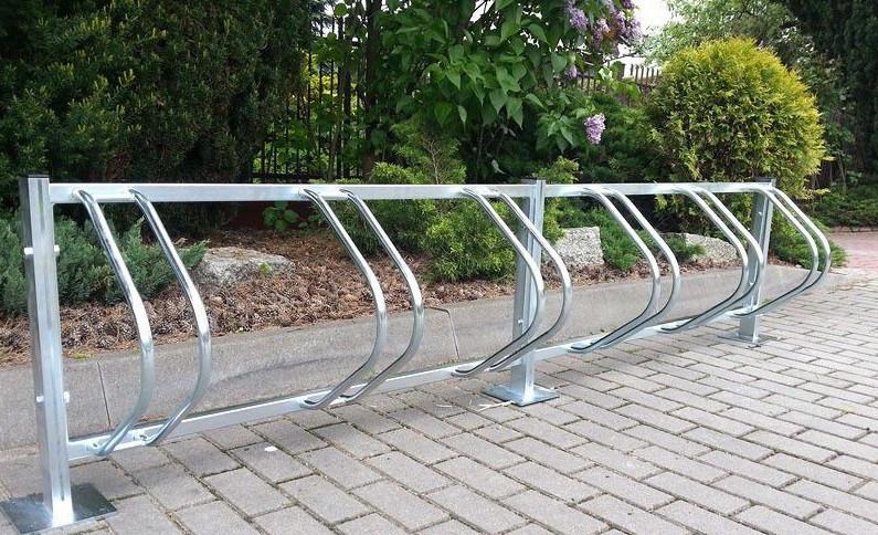 Велопарковка на 11 і більше велосипедів