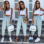 Стильные джинсы женские свободные (Норма, Батал), фото 3