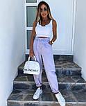 Стильные джинсы женские свободные (Норма, Батал), фото 4