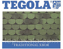 Черепиця TEGOLA (Super) Traditional Хвоя