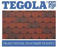 Черепица TEGOLA (Super) Traditional Красный гранит, фото 1